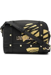 Love Moschino Bolsa Tote Love Heart - Preto