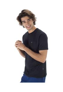 Camiseta Hd Pocket 5592A - Masculina - Preto