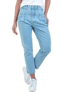 Calça Jeans Bloom Mom Feminino - Feminino