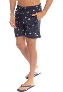 Shorts Aleatory Sailing Masculino - Masculino