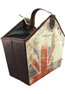 Cesto Organibox Revisteiro Londres