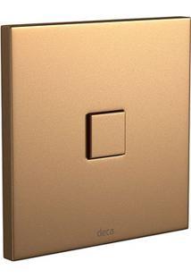 """Acabamento Para Válvula Deca Slim Gold Matte Com Kit Conversor 1 E 1/2"""" 4916.Gl.Slm.Mt - Deca - Deca"""