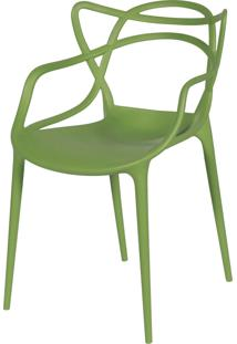 Cadeira De Jantar Solna Or Design Verde - Verde - Dafiti