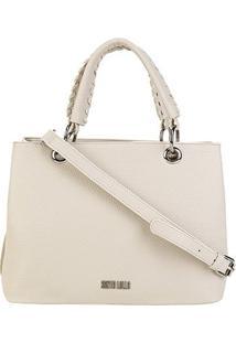 Bolsa Santa Lolla Shopper Floater Feminina - Feminino-Branco