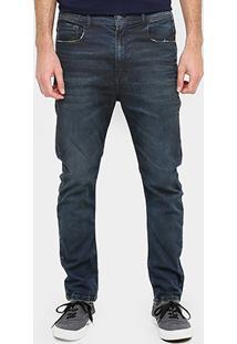 Calça Jeans Slim Fit Ellus Motor Confort Leve Resina Masculino - Masculino