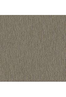 Papel De Parede Texturizado- Marrom- 53X1000Cm- Evolux