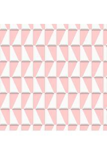 Papel De Parede Geométrico Rosa (950X52)