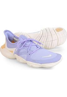 Tênis Nike Free Run 5.0 Feminino - Feminino-Roxo+Bege