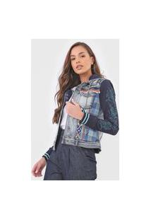 Jaqueta Jeans Desigual Loris Azul