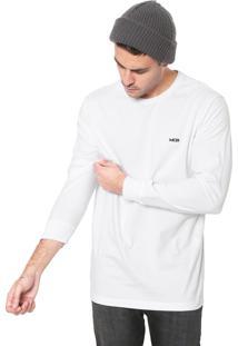 Camiseta Mcd Logo Pipa Branca