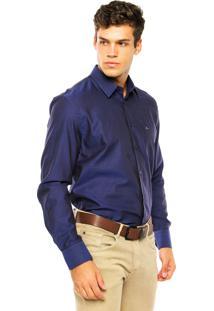 Camisa Aramis Bolso Azul