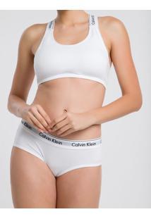 Sutiã Top Bojo Modern Cotton - Branco - M
