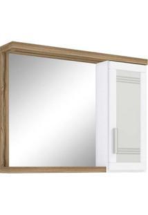 Espelheira Carmem 80X13,5X60Cm 5320 Terracota Darabas