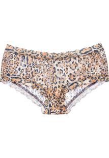 Calcinha Caleçon Leopard Nouveau Hp Onça