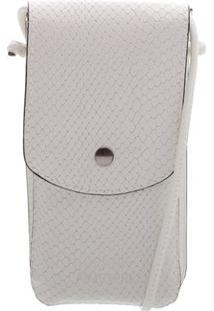 Porta Celular Snake Branco | Anacapri