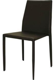 Cadeira Amanda 6606 Em Metal Pvc Marrom - 32868 - Sun House