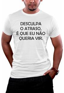 Camiseta Hunter Desculpa Branca