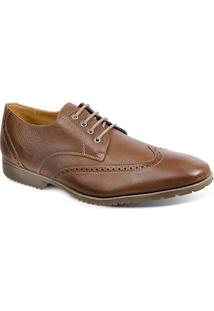 Sapato Social Masculino Derby Sandro Moscoloni Cloves Marrom Outlet