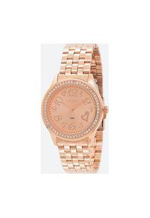 Relógio Feminino Lince Lrr4469L-R2Rx Analógico 5 Atm | Lince | Rosa Médio | U