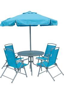 Conjunto De Jardim Bel Fix Miami Azul - Tricae