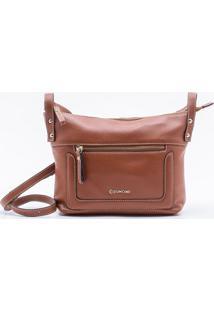 Bolsa Shoulder Bag Couro Camel - P