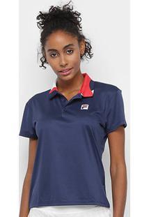 Camisa Polo Fila Detail Feminina - Feminino