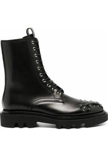 Givenchy Ankle Boot Com Tachas - Preto