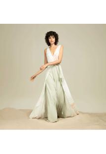 Vestido Longo Sobreposto Wind - Lez A Lez