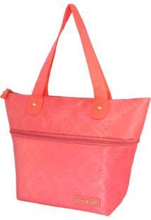 Bolsa Sacola Jacki Design Lisa Coral