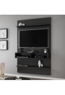 Painel Para Tv 47 Polegadas Vega Preto Fosco 116 Cm