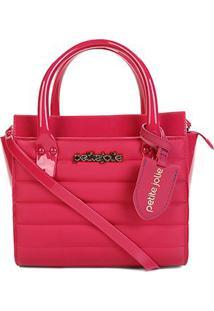 Bolsa Petite Jolie Mini Bag Love Bag Express Feminina - Feminino-Rosa