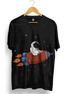 Camiseta Bsc Animated Rocket Full Print - Masculino