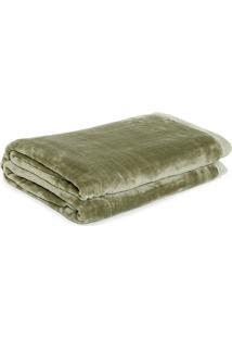 Cobertor Casal Kacyumara Blanket Verde