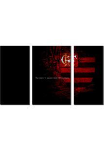 Quadro Decorativo Time Flamengo Para Sala Ou Quarto - Unico - Dafiti
