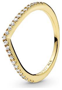 Anel Chevron Brilhante Pandora Shine™