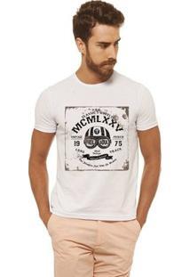 Camiseta Joss - Mcm - Masculina - Masculino-Branco