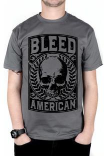 Camiseta Bleed American Caeser Chumbo