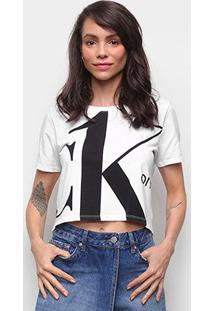 Blusa Básica Calvin Klein Estampada Feminina - Feminino
