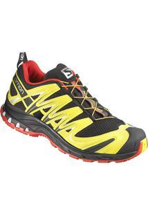 Tênis Salomon Masculino Xa Pro 3D Preto/Amarelo 38
