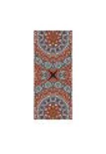 Adesivo Decorativo De Porta - Mandala - 2444Cnpt