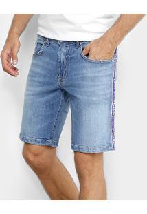 Bermuda Jeans Colcci Estonada Masculina - Masculino