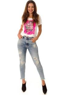 Calça Jeans Skinny Opera Rock Feminina - Feminino