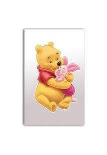 Adesivo De Parede Ursinho Pooh - 40X22 Cm - Gedex