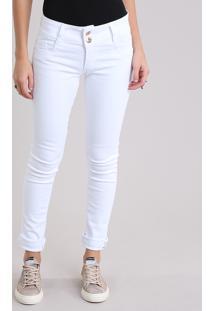 cbd49a2c4 R$ 79,99. CEA Calça De Sarja Feminina Sawary Super Skinny Branca