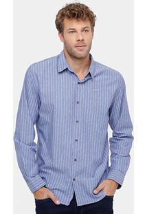 Camisa Colcci Listras Masculina - Masculino