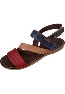 Sandalia Scarpe Elastico Vermelha