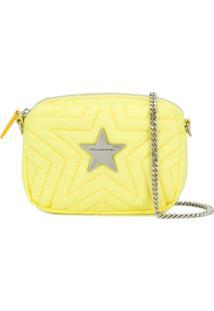 Stella Mccartney Bolsa Transversal Stella Star - Amarelo