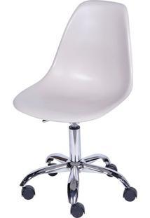 Cadeira Eames Dkr- Fendi & Prateada- 93X47X41Cm-Or Design
