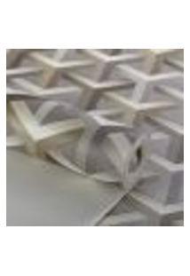 Papel De Parede Importado Vinilico Texturizado Geometrico 3D