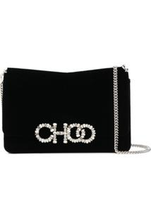 Jimmy Choo Clutch Sidney - Preto